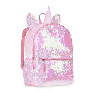 Wonder Nation  2 Way Pink Sequin Critter Backpack